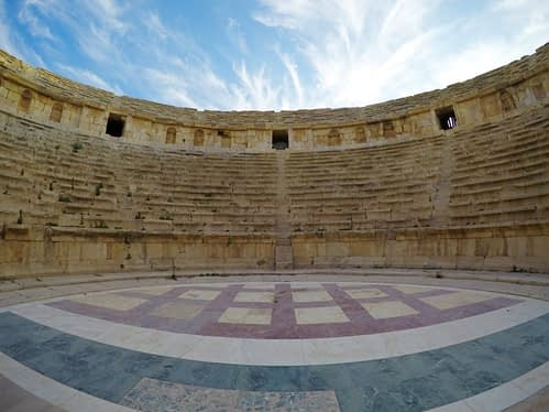 Amphitheater Jerash Jordan