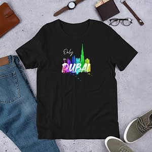 Dubai Skyline T-Shirt with text