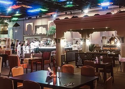 Iftar in Dubai - The Majlis at World Trace Center